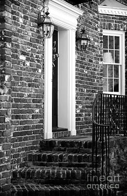 Old School House Photograph - Brick House by John Rizzuto