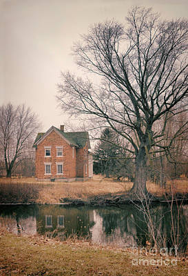 Photograph - Brick House Reflected by Jill Battaglia