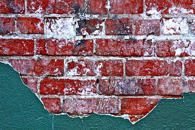 Photograph - Brick In The Wall II by Karon Melillo DeVega