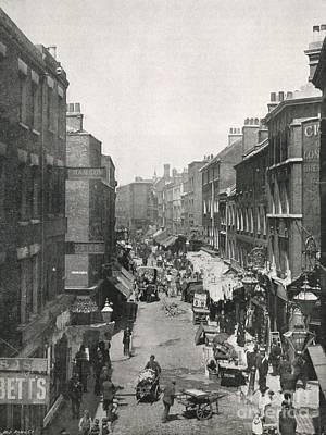 Black Commerce Photograph - Brick Lane, London, 1890s by British Library