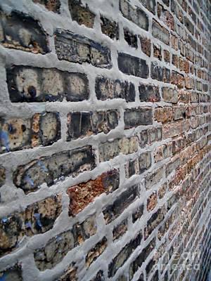 Brick Pattern-2 Art Print by Gene Mark