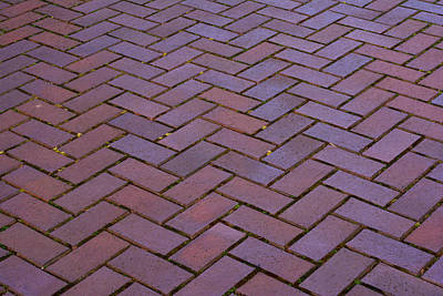 Photograph - Brick Pattern 2013 by Tikvah's Hope