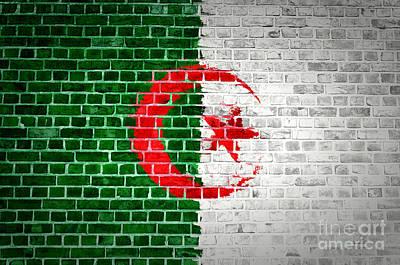 Brick Wall Algeria Art Print by Antony McAulay