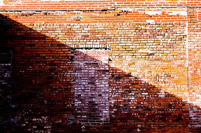 Digital Art - Brick Wall by Audreen Gieger