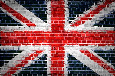 Brick Wall Britain Art Print by Antony McAulay
