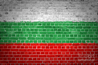 Brick Wall Bulgaria Art Print