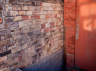 Photograph - Brick Wall by Fran Riley