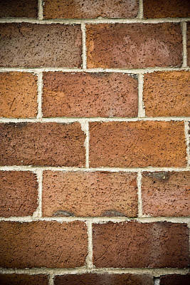 Brick Wall Art Print by Frank Tschakert