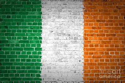 Brick Wall Ireland Art Print by Antony McAulay