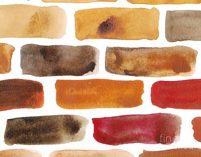 Stonewall Painting - Brick Wall by Kerstin Ivarsson