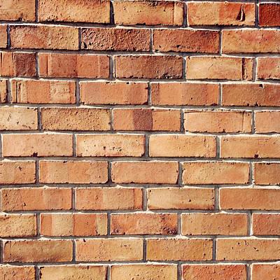 Brick Wall Art Print by Les Cunliffe