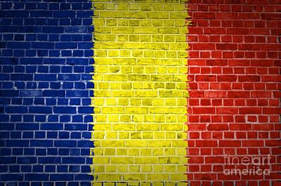 Brick Wall Romania Art Print by Antony McAulay