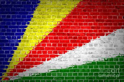 Mellow Yellow - Brick Wall Seychelles by Antony McAulay