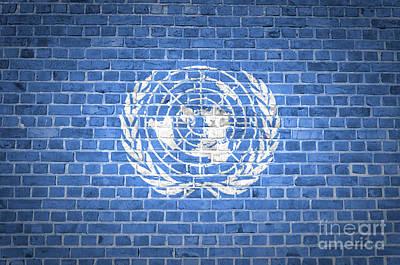 Studio Grafika Zodiac - Brick Wall United Nations by Antony McAulay