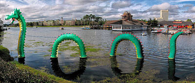 Photograph - Brickley The Lego Sea Serpent by C H Apperson