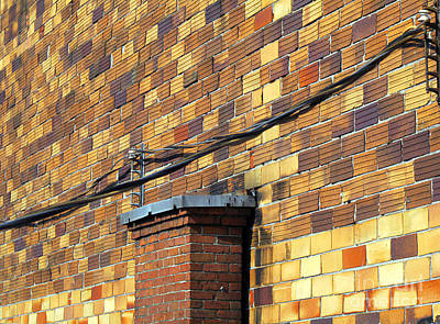 Bricks And Wires Art Print