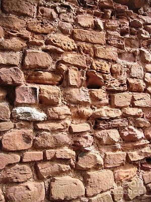 Simon De Montfort Wall Art - Photograph - Bricks by Denise Railey