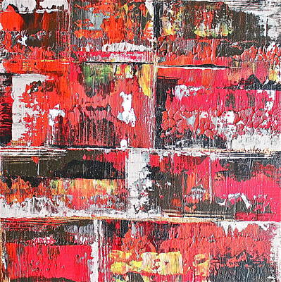 Painting - Bricks by Izabela Bienko