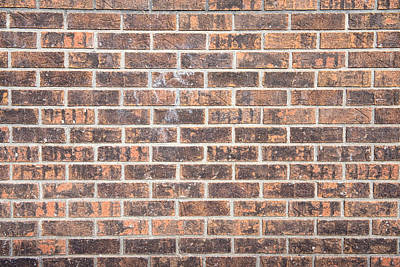 Photograph - Bricks On The Wall  by James BO  Insogna