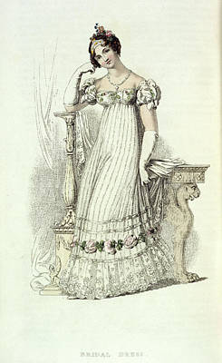 Bridal Dress Art Print by British Library
