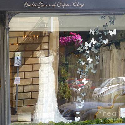 Carol Arnold Wall Art - Photograph - Bridal Gowns Of Clifton by Carol Arnold