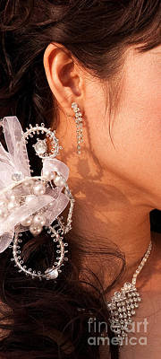 Bridal Jewelry Photograph - Bridal Jewelry by Rick Piper Photography