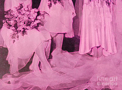 Honor Mixed Media - Bridal Pink By Jrr by First Star Art