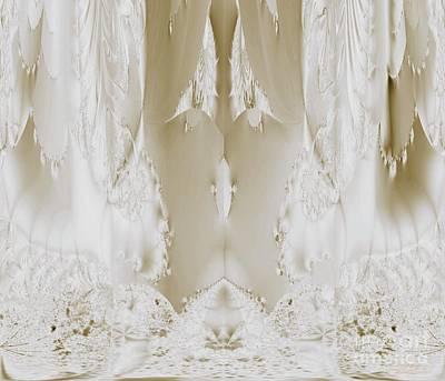 Digital Art - Bridal Satin by Maria Urso
