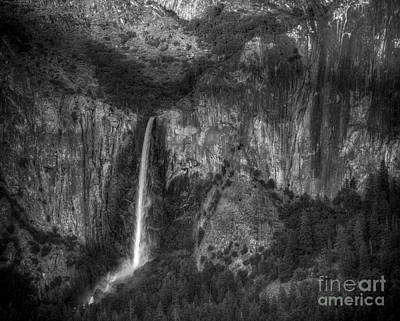 Waterfalls And Trees Landscape Photograph - Bridal Veil Fall  by Jennifer Magallon