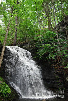 Photograph - Bridal Veil Falls 20120608_21 by Tina Hopkins