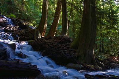 Jordan Stream Photograph - Bridal Veil Falls I by Jordan Blackstone
