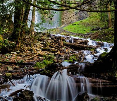 Photograph - Bridal Veil Falls II - Waterfall Art by Jordan Blackstone