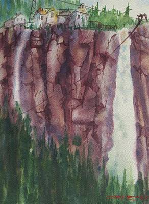 Bridal Veil Falls Art Print