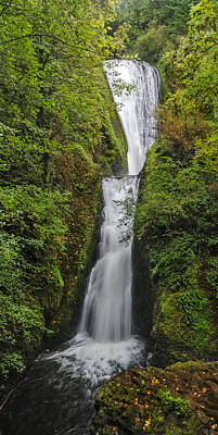 Photograph - Bridal Veil Falls by Loree Johnson