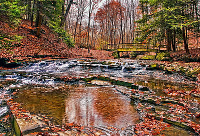 Ohio State Photograph - Bridal Veil by Marcia Colelli