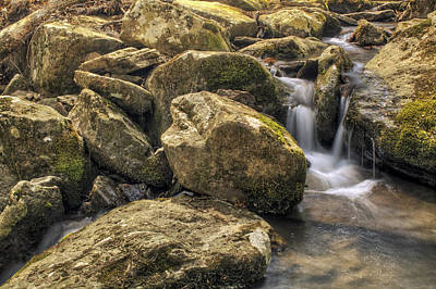 Photograph - Bridal Veil Stream - Heber Springs Arkansas by Jason Politte
