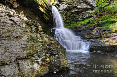 Bridal Veil Waterfalls Art Print