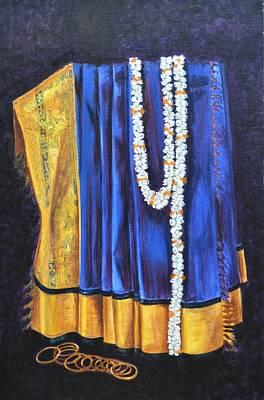 Bangles Painting - Bridal Wear by Usha Shantharam
