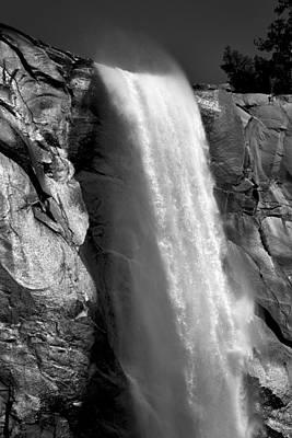 Photograph - Bridalveil Fall Comb-over by David Beebe