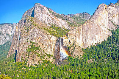 Photograph - Bridalveil Fall Serene May Afternoon by Steven Barrows