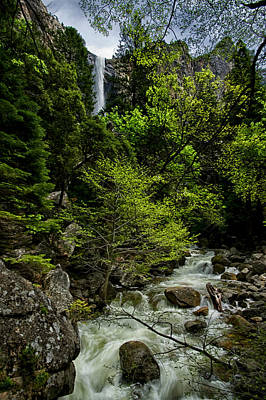 Photograph - Bridalveil Falls And Runoff by Cat Connor