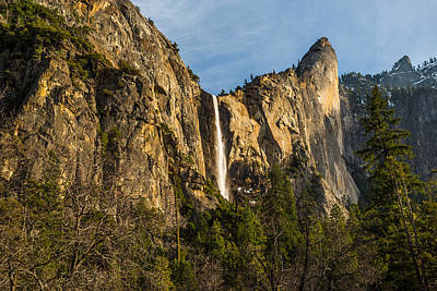 Bridalveil Falls Art Print by Mike Lee