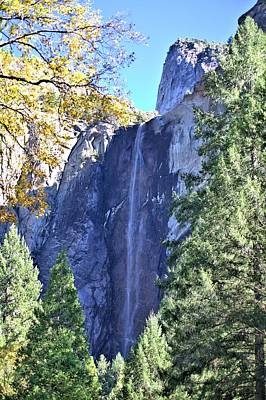 Photograph - Bridalveil In Yosemite by Gordon Elwell