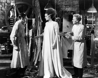 Bride Of Frankenstein Photograph - Bride Of Frankenstein  by Silver Screen
