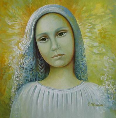 Bride To Anyone Art Print by Elena Oleniuc