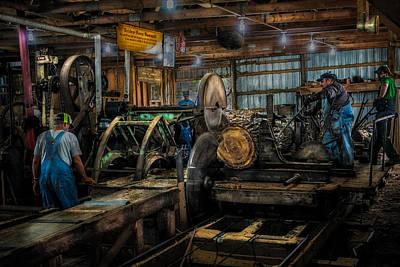 Briden-roen Sawmill Art Print by Paul Freidlund