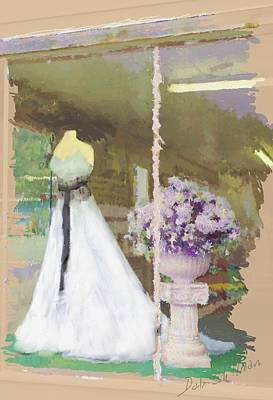 Digital Art - Brides Shop by Dale Stillman