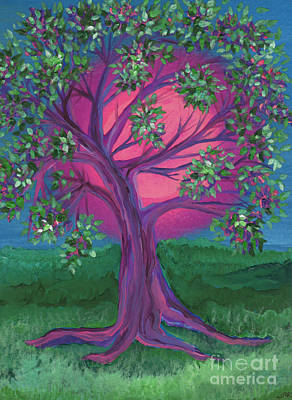 Painting - Bridesmaid Tree by First Star Art
