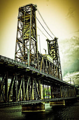 Photograph - Bridge 1 Portland by Craig Perry-Ollila