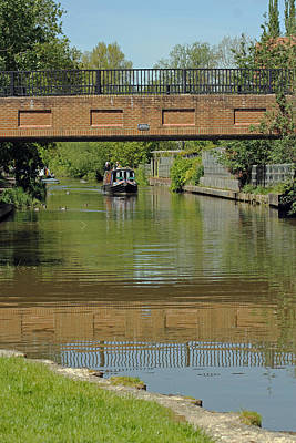 Photograph - Bridge 238b Oxford Canal by Tony Murtagh